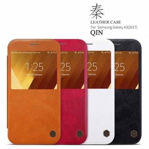 کیف چرمی نیلکین مدل Qin مناسب Samsung Galaxy A3 2017 A320F