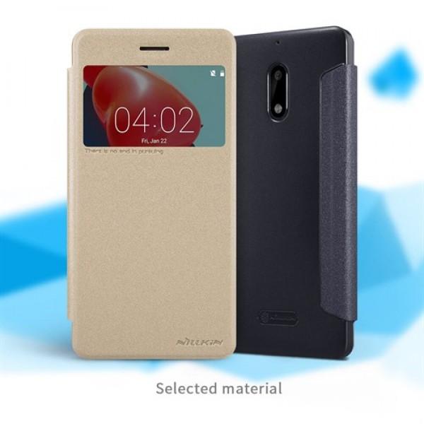 کیف کلاسوری نیلکین مدل Sparkle مناسب Nokia 6