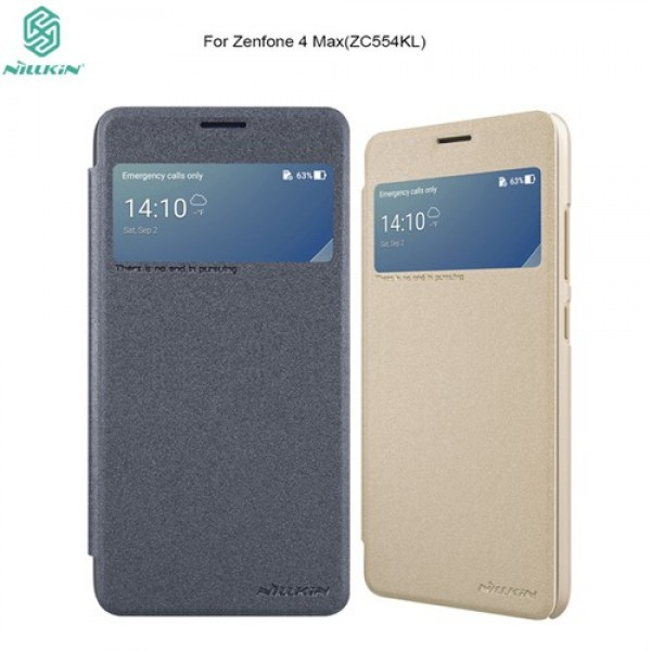 کیف کلاسوری نیلکین مدل Sparkle مناسب Asus Zenfone 4 Max ZC554KL