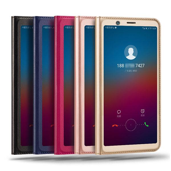 کیف چرمی هواوی Huawei Honor 7C / Y7 Prime 2018