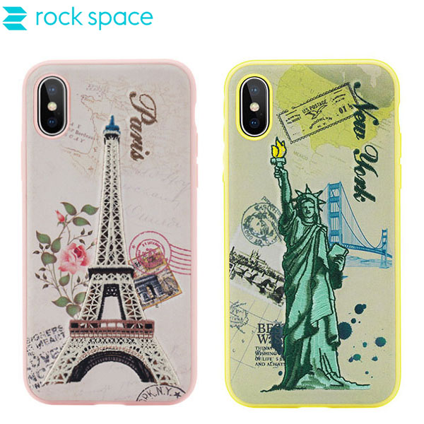 کاور راک Rock Great City Series Embroidery مناسب Apple iPhone X