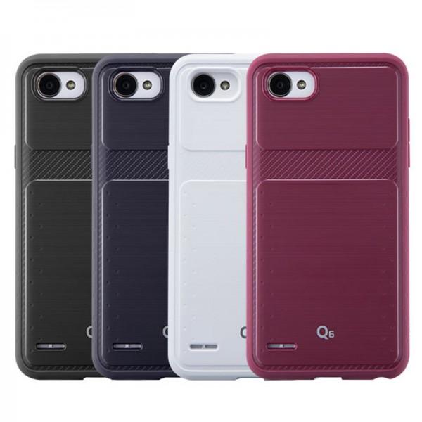 کاور ژله ای Voia مدل Geometry TPU مناسب گوشی ال جی LG Q6