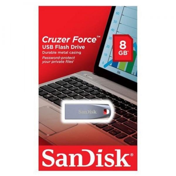 فلش مموری 8 گیگابایت سن دیسک Sandisk Cruzer Force CZ71