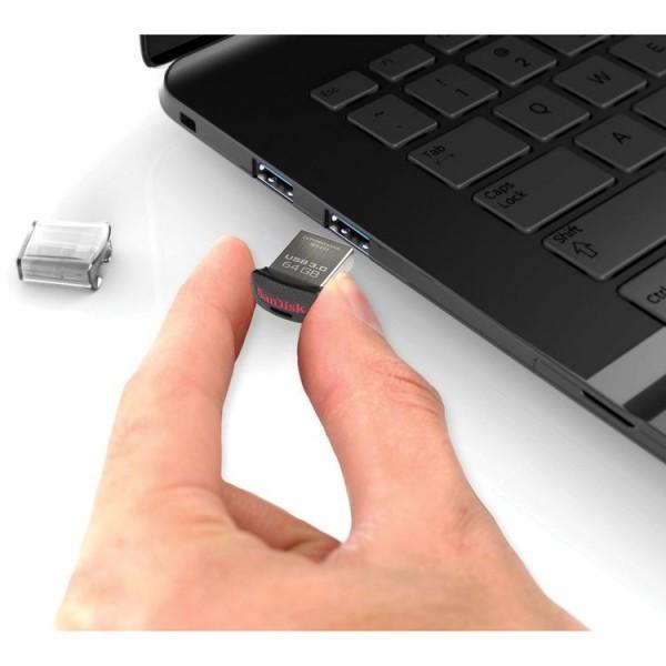 فلش مموری 16 گیگابایت سن دیسک Sandisk Ultra Fit SDCZ43 USB 3.0