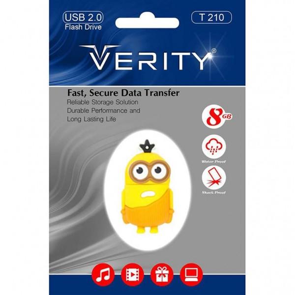 فلش مموری عروسکی 8 گیگابایت وریتی Verity T210