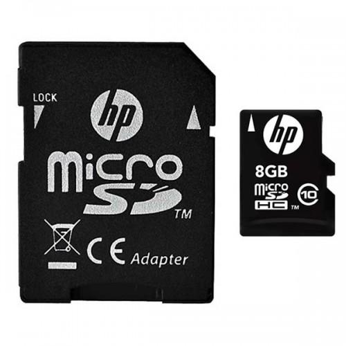 کارت حافظه میکرو اس دی 8 گیگابایت اچ پی HP mi200 Class 10