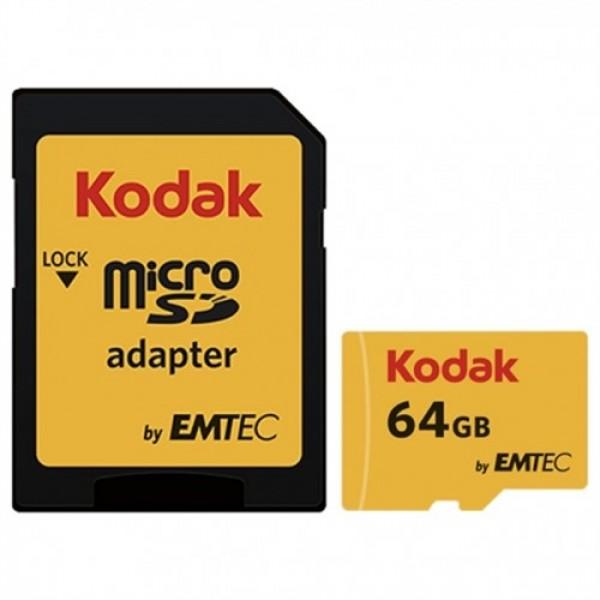 کارت حافظه میکرو اس دی 64 گیگابایت کداک Kodak 580x UHS-I U1 85MBps
