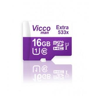 کارت حافظه میکرو اس دی 16 گیگابایت ViccoMan Extra 533x UHS-l U1