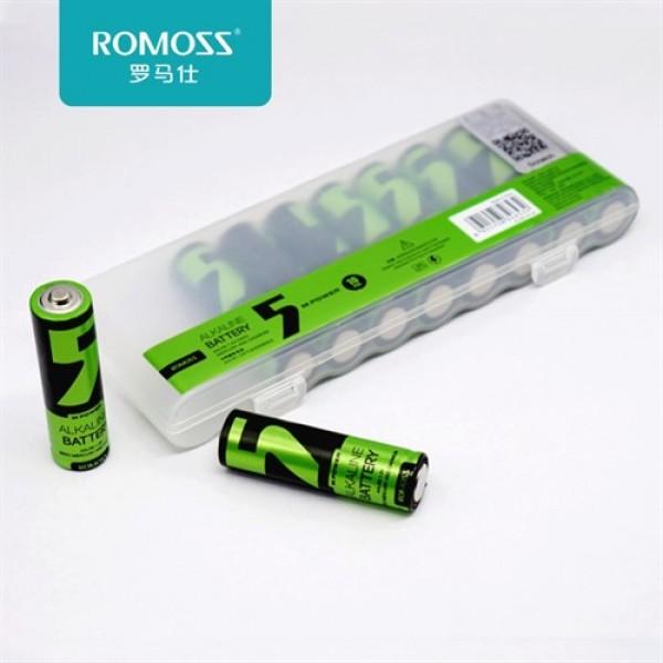 باتری قلمی روموس آلکالاین AL04B Alkaline AA بسته 10 تایی