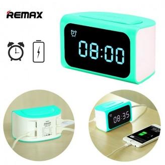 ساعت رومیزی و هاب 4 پورت ریمکس Remax RMC-05