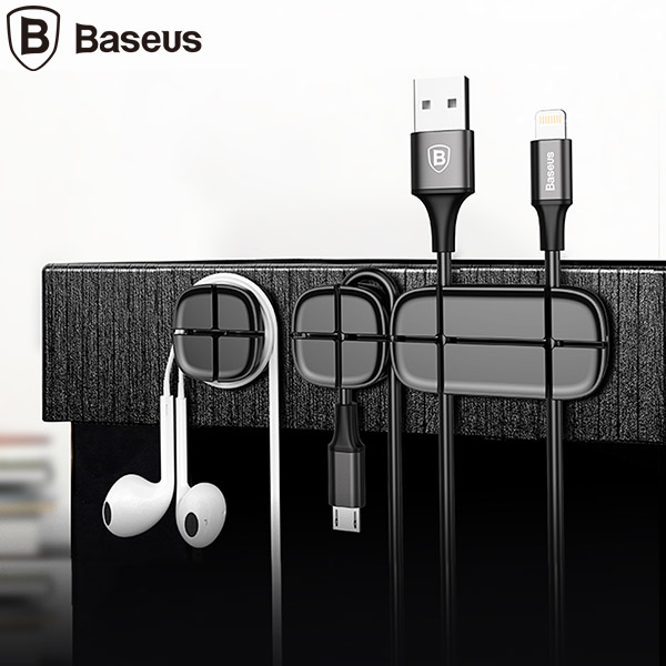 گیره نگهدارنده ی کابل بیسوس Baseus Cross Peas Cable Clip