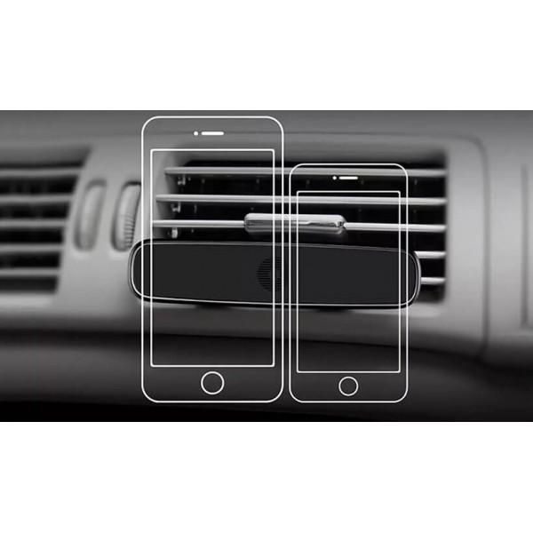 پایه نگهدارنده آهنربایی موبایل بیسوس Baseus Double Clip Vehicle Mount SUHS-DP01