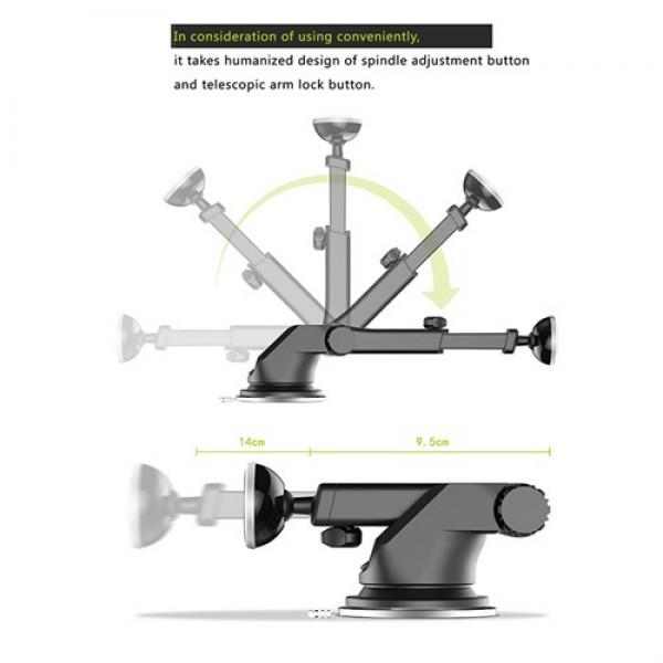 پایه نگهدارنده آهنربایی موبایل بیسوس Baseus Mechanical Era SULX-0R
