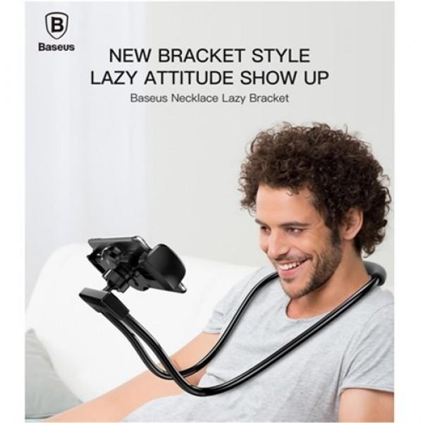 هولدر گردنی و مونوپاد بیسوس Baseus Necklace Lazy Bracket LR01