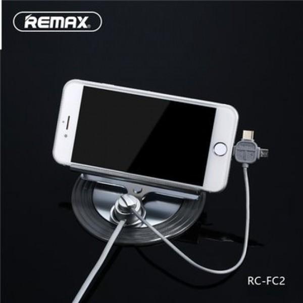 هولدر نگهدارنده موبایل ریمکس Remax Letto RC-FC2 و شارژر سه کاره