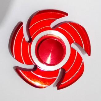 اسپینر فلزی طرح چرخ رنگی Fidget Spinner Metal Wheel Red