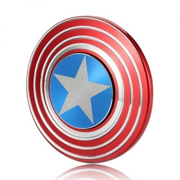 اسپینر فلزی طرح کاپیتان آمریکا Fidget Spinner Captain America