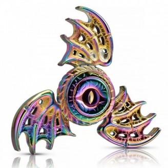 اسپینر فلزی دراگون رنگین کمانی Fidget Spinner Metal Dragon Fly Rainbow