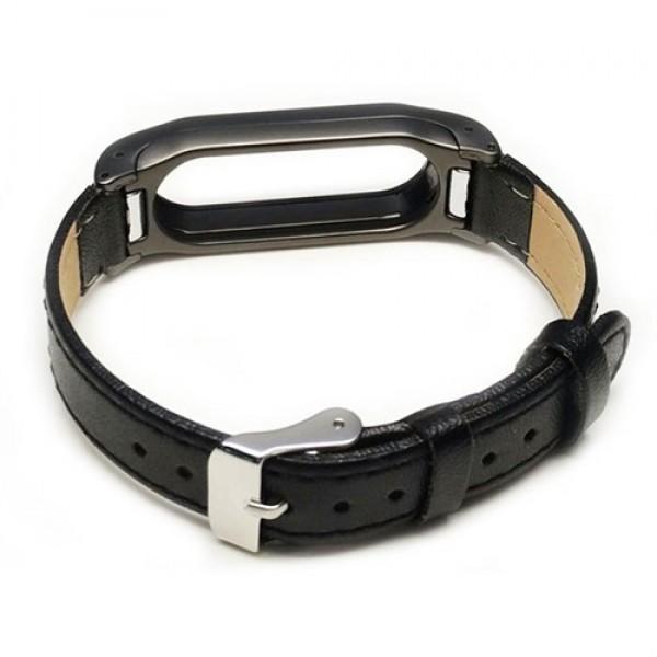بند چرمی دستبند هوشمند شیائومی مدل Mi Band 2 Leather Strap