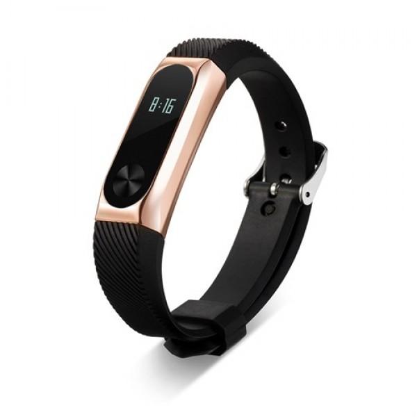 بند کربنی دستبند هوشمند شیائومی مدل Mi Band 2 Carbon Strap
