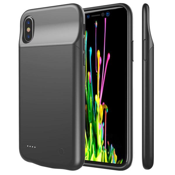 بک کاور و پاوربانک 3200 میلی آمپر iPhone X Battery Case