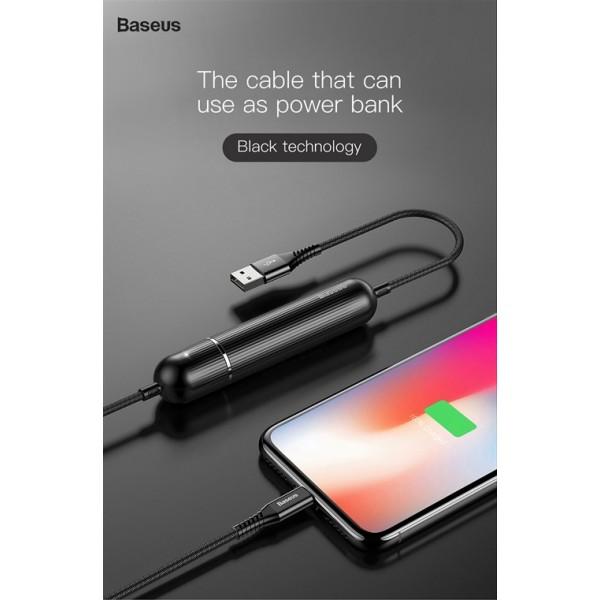 پاوربانک کابل 2500 میلی آمپر بیسوس Baseus Energy two-in-one