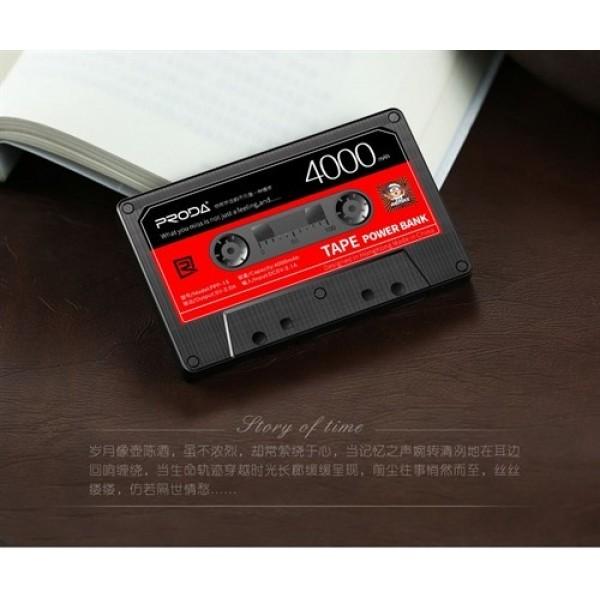 پاوربانک 4000 میلی آمپر پرودا ریمکس Proda Remax PPP-15 Tape
