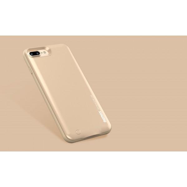 بک کاور و پاوربانک 2400 میلی آمپر ریمکس Remax PN-01 مناسب Apple iPhone  7