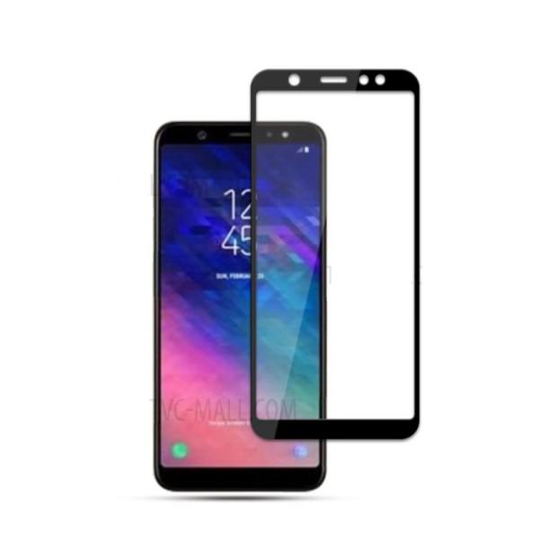 محافظ صفحه نمایش شیشه ای تمام صفحه برای Samsung Galaxy A6 Plus 2018