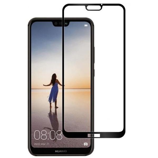 محافظ صفحه نمایش شیشه ای تمام صفحه مناسب Huawei Nova 3e / P20 Lite