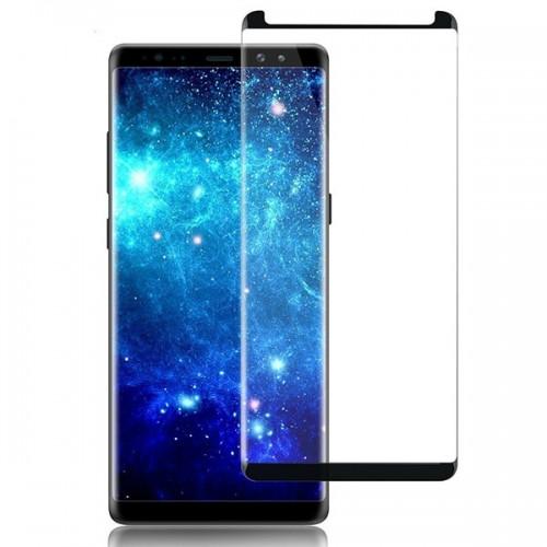 محافظ صفحه نمایش شیشه ای تمام صفحه و خمیده تمام چسب مناسب Samsung Galaxy Note 8 مارک RG