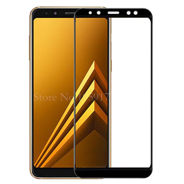 محافظ صفحه نمایش شیشه ای تمام صفحه و خمیده مارک رمو مناسب Samsung Galaxy A8 Plus 2018