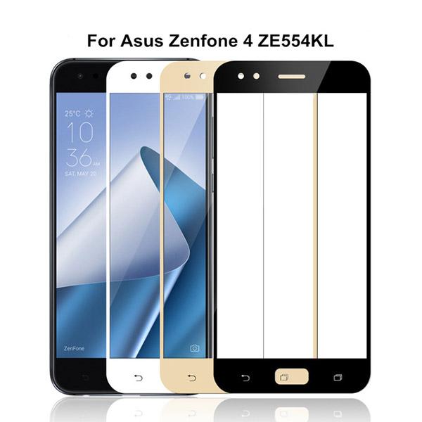 محافظ صفحه نمایش شیشه ای تمام صفحه برای Asus Zenfone 4 ZE554KL