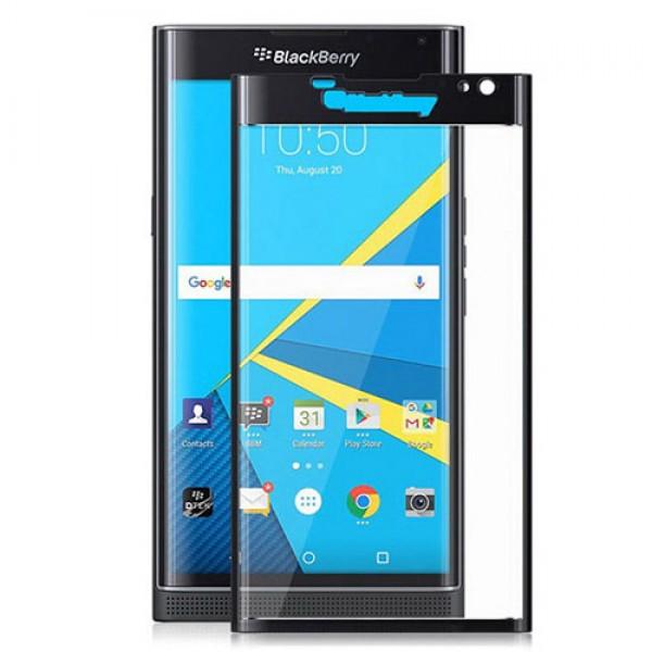 محافظ صفحه نمایش شیشه ای تمام صفحه دور چسب BlackBerry Priv Mocol Glass