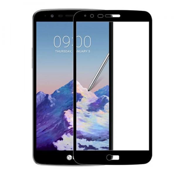 محافظ صفحه نمایش شیشه ای تمام صفحه و خمیده مارک رمو مناسب LG Stylus 3