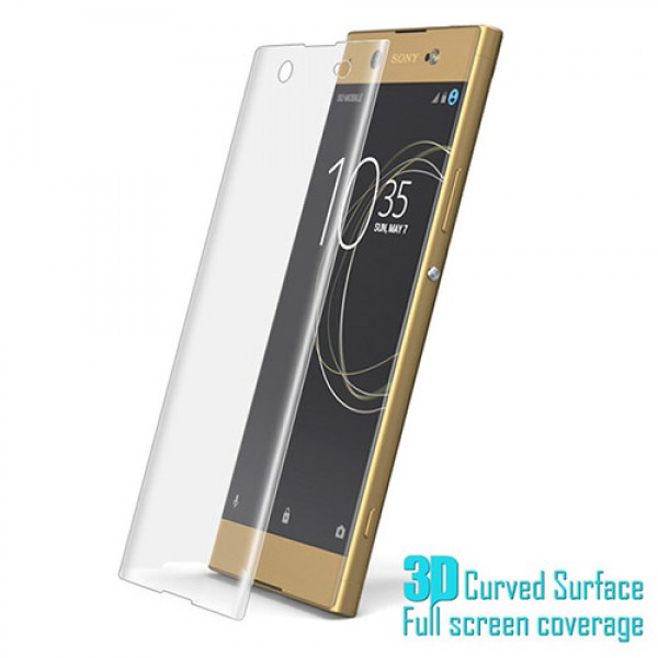 محافظ صفحه نمایش شیشه ای تمام صفحه و خمیده مارک رمو مناسب Sony Xperia XA1