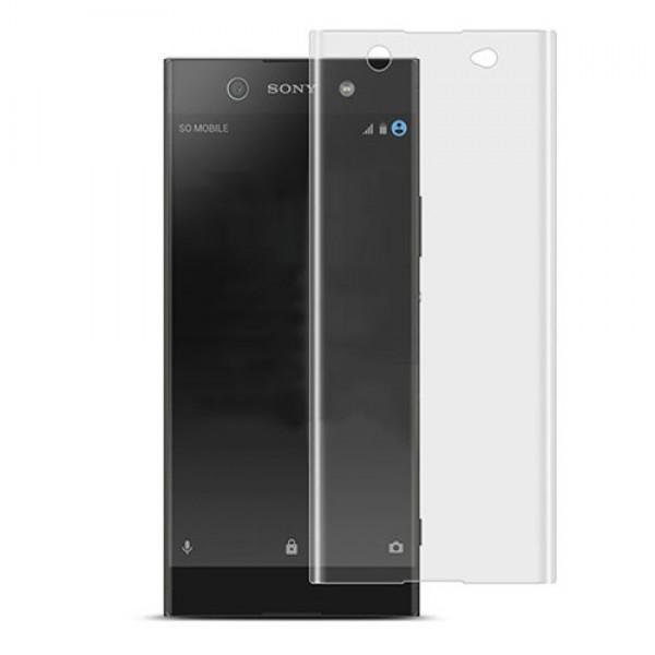 محافظ صفحه نمایش شیشه ای تمام صفحه و خمیده مارک رمو مناسب Sony Xperia XA Ultra