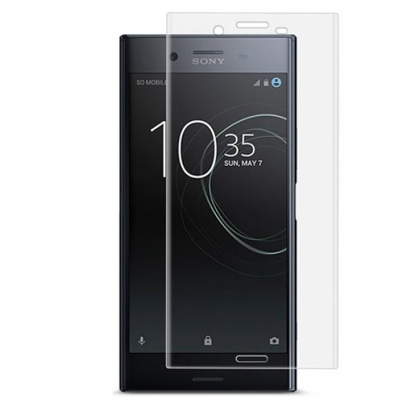 محافظ صفحه نمایش شیشه ای تمام صفحه و خمیده مارک رمو مناسب Sony Xperia XZ Premium