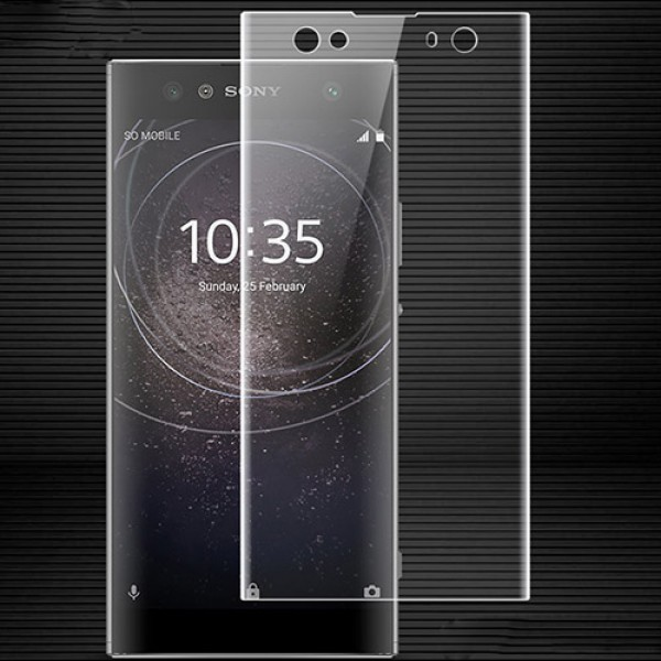 محافظ صفحه نمایش شیشه ای تمام صفحه و خمیده Remo برای Sony XA2 Ultra
