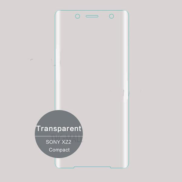 محافظ صفحه نمایش شیشه ای تمام صفحه خمیده Remo برای Sony XZ2 Compact