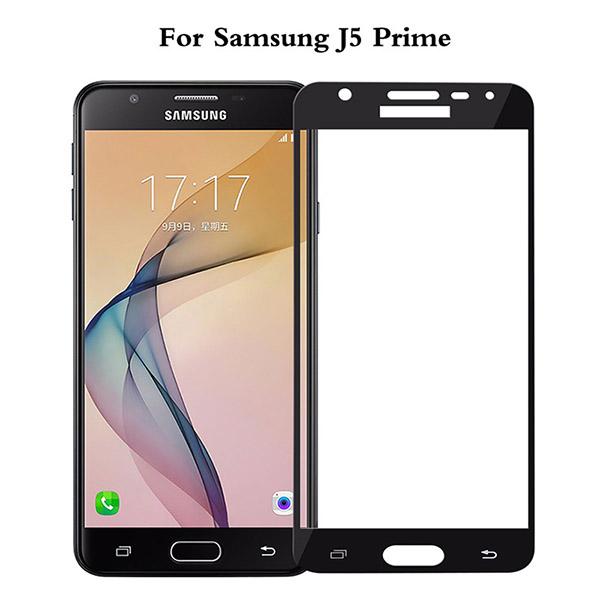 محافظ صفحه نمایش شیشه ای تمام صفحه و خمیده مارک رمو مناسب Samsung Galaxy J5 Prime