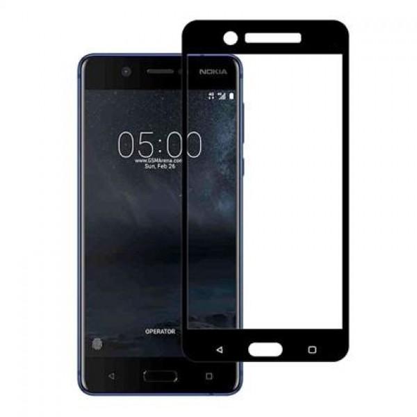 محافظ صفحه نمایش شیشه ای تمام صفحه و خمیده مارک رمو مناسب Nokia 5