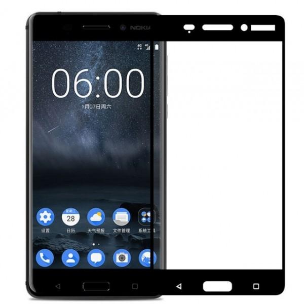 محافظ صفحه نمایش شیشه ای تمام صفحه و خمیده مارک رمو مناسب Nokia 6