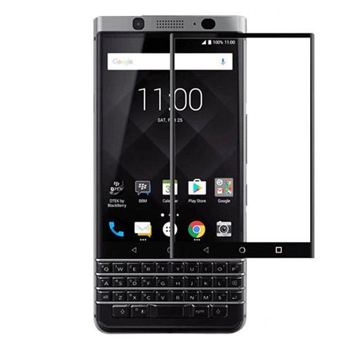 محافظ صفحه نمایش شیشه ای تمام صفحه و خمیده مارک رمو مناسب BlackBerry Keyone Dtek70 Mercury