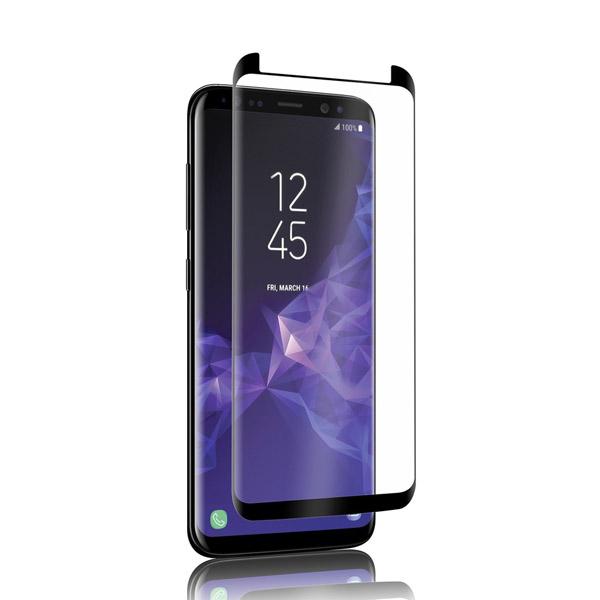 محافظ صفحه نمایش شیشه ای تمام صفحه و خمیده مارک رمو مناسب Samsung Galaxy S9