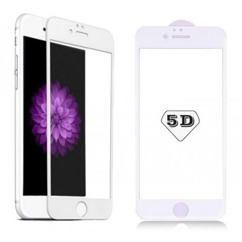 محافظ شیشه ای 5D صفحه نمایش مناسب Apple iPhone 6-6s