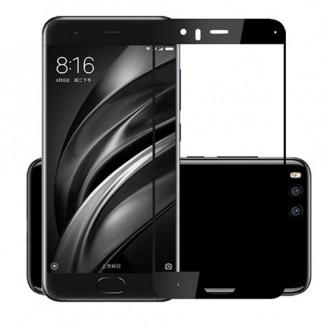 محافظ صفحه نمایش شیشه ای تمام صفحه و خمیده تمام چسب مناسب Xiaomi Mi 6