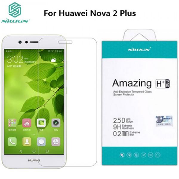 محافظ صفحه نمایش شیشه ای نیلکین H+ Pro Glass Huawei Nova 2 Plus