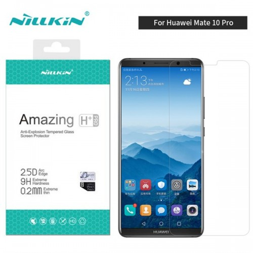 محافظ صفحه نمایش شیشه ای نیلکین هواوی Nillkin H+ Pro Glass Huawei Mate 10 Pro