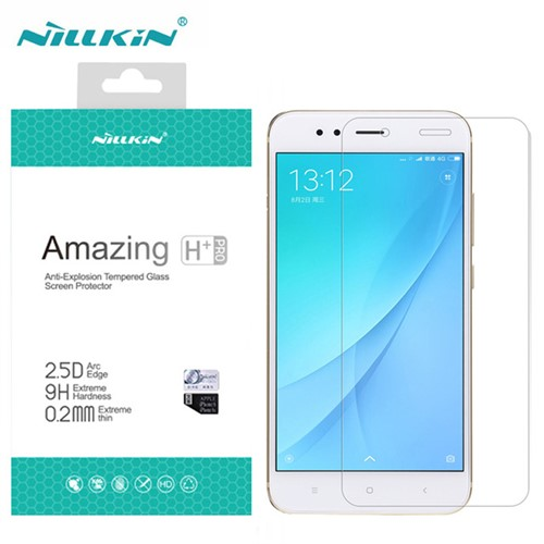 محافظ صفحه نمایش شیشه ای نیلکین شیائومی Nillkin H+ Pro Glass Xiaomi Mi A1/5X